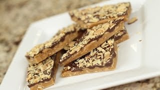 Download Best Homemade Toffee Makes A Great Christmas Gift - by Rockin Robin Video