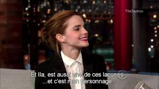 Download [VOSTFR] Emma Watson chez David Letterman (25.03.2014) Video
