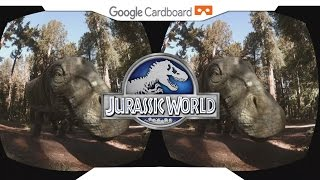 Download JURASSIC WORLD APATOSAUROS • SBS 1080p • GOOGLE CARDBOARD • Gear VR Gameplay • VIRTUAL REALITY Video