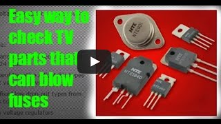 Download How to check fuses, diodes, transistors, voltage regulators Video