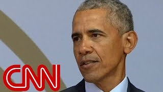 Download Obama speaks about 'strange and uncertain times' Video