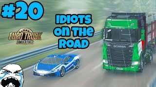 Download Euro Truck Simulator 2 Multiplayer: Idiots on the Road   Random & Funny Moments   #20 Video