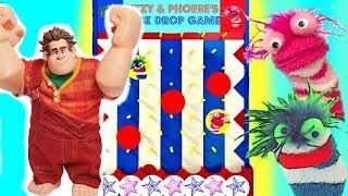 Download Wreck it Ralph 2 Breaks the Internet Fizzy & Phoebe Disk Drop Game Video