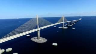 Download Sunshine Skyway Bridge - St Petersburg, FL Video