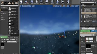 Unreal Engine 4] Pixelated Water Plane - Part 1: Base Water Shader