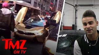 Download Youtuber Coby Persin's $200k BMW Gets Smashed With A Baseball Bat | TMZ TV Video
