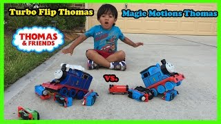 Download Ryan plays with Thomas and Friends Remote Control Trains Video