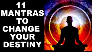 Download 11 MOST POWERFUL MANTRAS TO CHANGE YOUR DESTINY : VERY POWERFUL ! Video