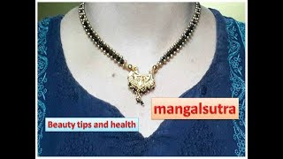 Download How to make mangalsutra | Make your Own Mangalsutra | Bridal Jewelry | Latest Mangalsutra Video