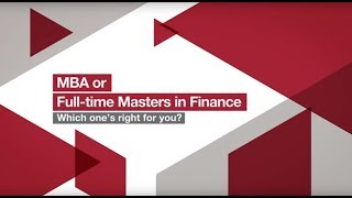 Download MBA or Masters in Finance - Which one's right for you? | London Business School Video