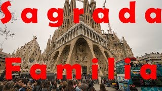 Download Inside La Sagrada Familia, Barcelona - in 4K Video