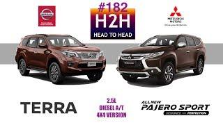 Download H2H #182 Nissan TERRA vs Mitsubishi PAJERO SPORT Video