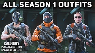 Download All Season 1 Operator Outfits & Uniforms (SHOWCASE) - Call of Duty: Modern Warfare Video