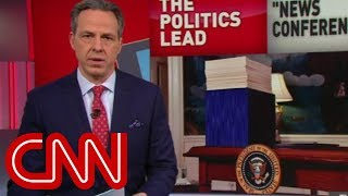 Download Tapper: Trump's battle with facts continues Video