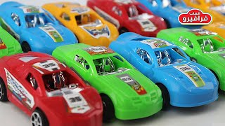 Download العاب سيارات اطفال وتعلم الالوان باللغتين العربية والانجليزية لعبة سباق السيارات للاطفال Video