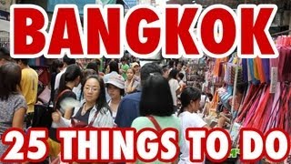 Download 25 Amazing Things To Do in Bangkok, Thailand Video