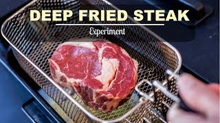 Download Deep Fried Steak Experiment Video