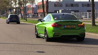 Download Supercars Arriving at Car Meet! M4 Competition, LaFerrari, Aventador S, 812SF, 991 GT3RS.. Video