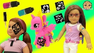 Download Glitter Glam Craft Tattoos On American Girl and Our Generation Doll Adriana Video Video