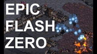 Download EPIC - Flash (T) v Zero (Z) on Circuit Breakers - StarCraft - Brood War REMASTERED Video