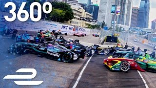 Download Formula E 360° Moments: Hong Kong ePrix First Corner! Video