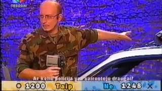 Download M.Juškauskas gerina policiją. LNK Frontas 2003. Video