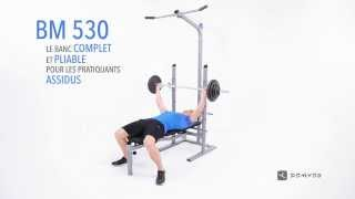 Download DOMYOS BM 530 WEIGHT BENCH Video