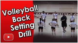 Download Play Better Volleyball - Back Setting Drill - Coach Santiago Restrepo Video