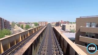Download CTA Ride the Rails: Blue Line to O'Hare in Real Time Video