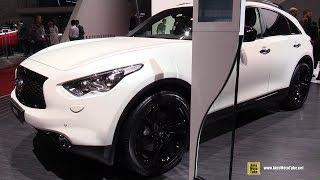 Download 2017 Infiniti QX70 S - Exterior and Interior Walkaround - 2017 Geneva Motor Show Video