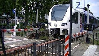 Download Spoorwegovergang Reuver // Dutch railroad crossing Video