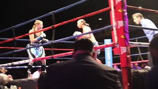 Download Raquel Miller KOs opponent in ONE ROUND Video