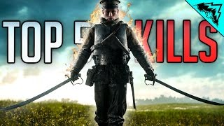 Download Battlefield 1 Top 5 LUCKIEST Kills (2 Plane Colat, Ghost Plane Road Kill, 5 Man Flare Gun) WBCW #165 Video