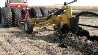Download Installing Prinsco farm drainage tile with the Gold Digger tile plow Video