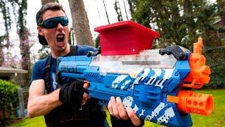 Download NERF WAR: THE STOLEN NERF GUN (Drac Vs Aaron) Video