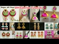 Download DIY Silk Thread Earrings Tutorials | BeautyinU by Divya Overall Collection | Silk Thread jewelry Video