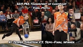 Download 2018 PBA Tournament of Champions Final Match - ??? V.S. #1 Jesper Svensson Video