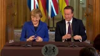 Download Angela Merkel Queen of Europe - not Cameron's auntie Video
