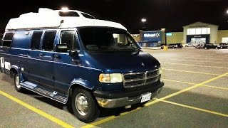 Download My First Overnight RV Boon Docking at Walmart Experience Video