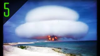 Download 5 Declassified Nuclear Explosions Caught on Film Video
