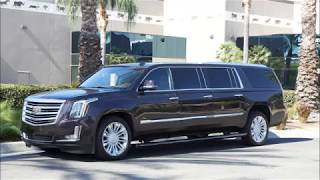 Download 2017 Cadillac Escalade Platinum Edition Six Door Limo Limousine by Quality Coachworks Video