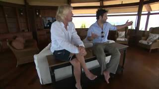 Download Oprah Show Stone Bath Tub By Pietra Kaikos Richard Branson's House at nate necker island Video