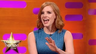 Download Jessica Chastain Shocked By Penis Problems - The Graham Norton Show Video