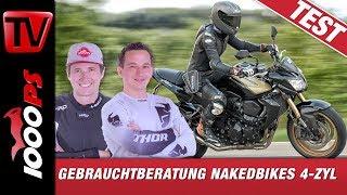 Download Gebrauchtberatung Nakedbikes - Kawasaki Z750R - Wie viel Zylinder für Dein Motorrad - Teil 4/4 Video