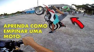 Download COMO EMPINAR MOTO? APRENDA AGORA! BROS 160 / TUTORIAL Video