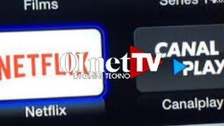 Download Netflix vs Canalplay : le match Video