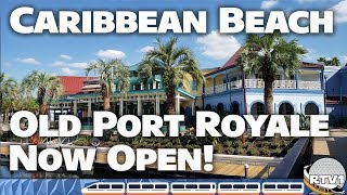 Download Disney's Caribbean Beach Resort - New Old Port Royale Tour & Construction Update (October 2018) Video