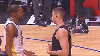 Download Kevin Durant Stops To Give Danilo Gallinari Advice While Struggling But Commentators Don't Like It! Video