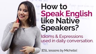 Download How to speak English like Native Speakers? - Free English Lessons Video
