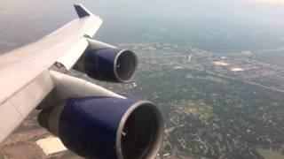 Download Delta Boeing 747-400 Takeoff RWY 22 Minneapolis/St. Paul Intl Video